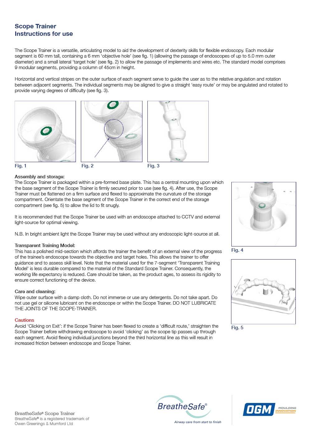 BiteBlock technical Specifications